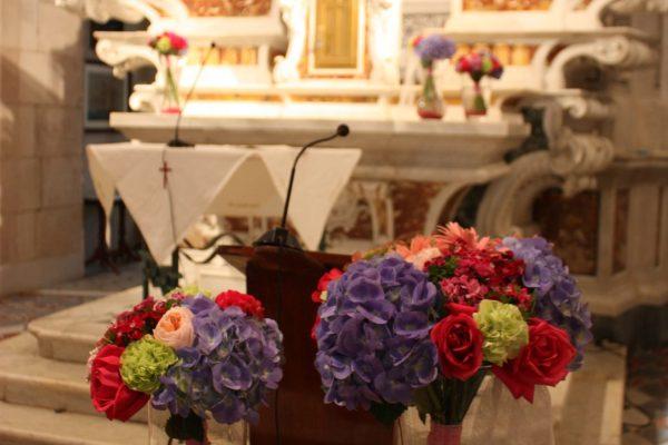Bouquets amb vidre colors vius 035